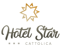 Logo dell'hotel star di Cattolica